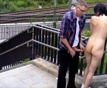 Realer Sex in de Öffentlichkeit